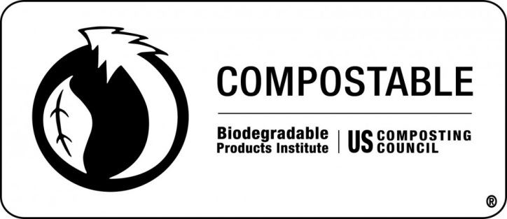 Compostable logo