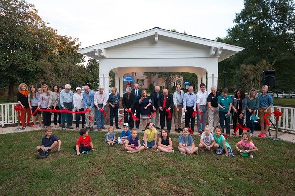 Hughes Park Ribbon Cuttiong on October 30, 2018