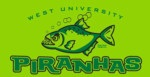 West U Piranhas Swim Team logo