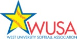 West University Softball Association (WUSA) logo
