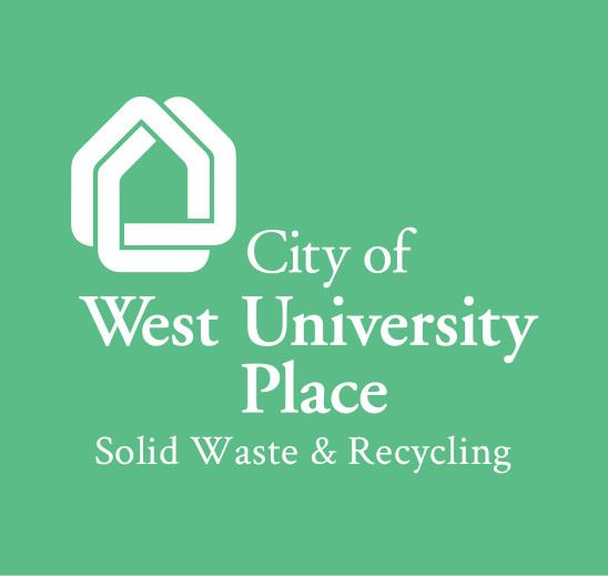 City of West University Place Solid Waste and Recycling Logo