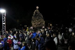2018 Tree Lighting Ceremony Crowd