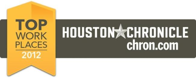 Top Work Places in 2012 - Houston Chronicle chron.com website banner
