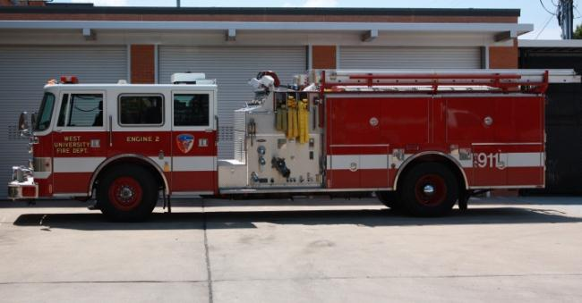 Engine 2 1995 Pierce Arrow